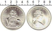 Изображение Монеты Багамские острова 5 долларов 1972 Серебро UNC-