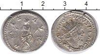 Монета Древний Рим 1 антониниан Серебро UNC- фото