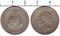 Изображение Монеты Германия Саксония 1/6 талера 1861 Серебро VF