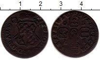 Изображение Монеты Бельгия Льеж 1 лиард 1750 Медь VF