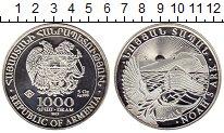 Изображение Монеты Армения 1000 драм 2012 Серебро UNC