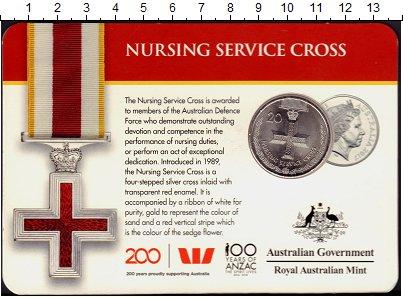 Изображение Подарочные монеты Австралия 20 центов 2017 Медно-никель UNC Ордена и Награды