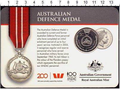 Изображение Подарочные монеты Австралия 20 центов 2017 Медно-никель UNC Награды,Ордена и Мед