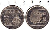 Изображение Монеты Нидерланды Аруба 2 1/2 флорина 1986 Медно-никель XF