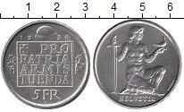 Изображение Монеты Швейцария 5 франков 1936 Серебро UNC-