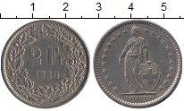 Изображение Монеты Швейцария 2 франка 1980 Медно-никель UNC-