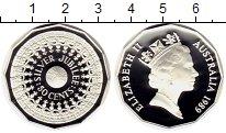 Изображение Монеты Австралия 50 центов 1989 Серебро Proof