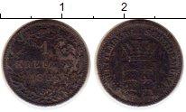 Изображение Монеты Германия Вюртемберг 1 крейцер 1856 Серебро VF