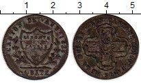 Изображение Монеты Швейцария Вауд 1 батзен 1828 Серебро VF