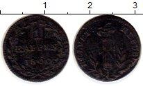 Изображение Монеты Швейцария 1 рапп 1800 Серебро VF
