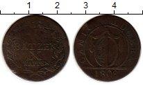 Изображение Монеты Швейцария Люцерн 1 батзен 1808 Серебро VF