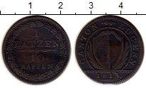 Изображение Монеты Люцерн 1 батзен 1813 Серебро VF
