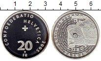 Изображение Монеты Швейцария 20 франков 2005 Серебро UNC-