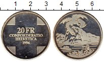 Изображение Монеты Швейцария 20 франков 1996 Серебро UNC-