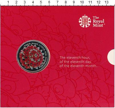Изображение Подарочные монеты Олдерни 5 фунтов 2016 Медно-никель Proof Цифровая  печать.  Е