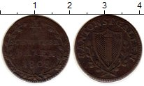 Изображение Монеты Сант-Галлен 1/2 батзена 1808 Серебро VF
