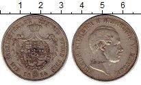 Изображение Монеты Германия Гессен-Дармштадт 1 талер 1864 Серебро XF