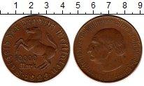 Изображение Монеты Германия Вестфалия 10000 марок 1923 Латунь XF