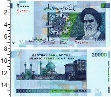 Изображение Банкноты Иран 20000 риалов 2004  UNC-