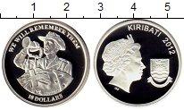Изображение Мелочь Кирибати 10 долларов 2012 Серебро Proof