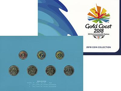 Изображение Подарочные монеты Австралия XXI Игры Содружества 2018 Латунь UNC
