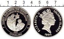 Изображение Монеты Соломоновы острова 10 долларов 1995 Серебро Proof