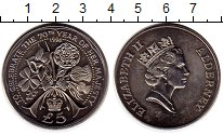 Изображение Монеты Великобритания Олдерни 5 фунтов 1996 Медно-никель UNC-