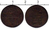 Изображение Монеты Германия Саксония 1 пфенниг 1837 Медь VF