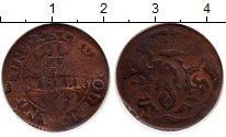 Изображение Монеты Германия Кёльн 1/4 стюбера 1742 Медь VF