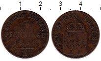 Изображение Монеты Германия Пруссия 3 пфеннига 1856 Медь VF