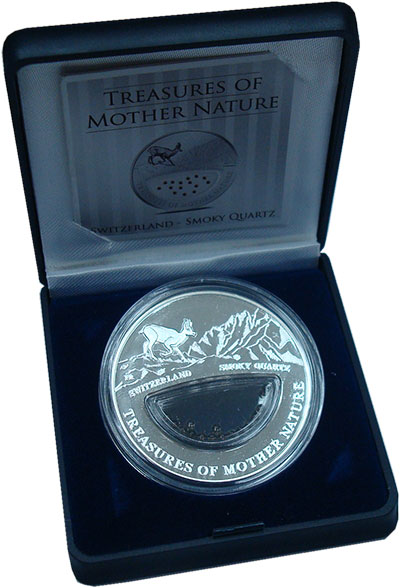 Изображение Подарочные монеты Фиджи 1 доллар 2012 Серебро Proof `Серия ``Сокровища п