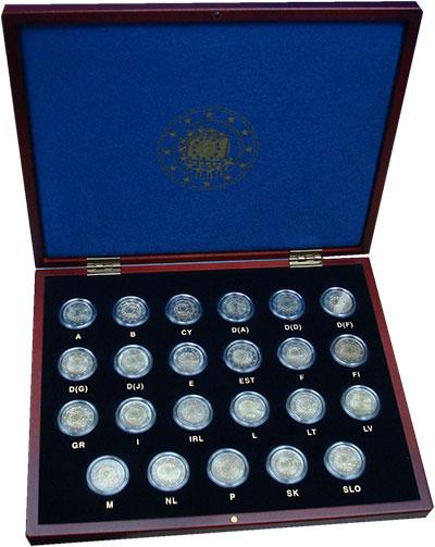 Изображение Подарочные монеты Евросоюз 30 лет флага Европейского союза 2015 Биметалл UNC