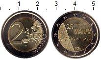 Изображение Монеты Словения 2 евро 2016 Биметалл UNC