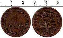 Изображение Монеты Мозамбик 1 эскудо 1965 Бронза XF