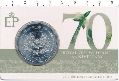 Изображение Подарочные монеты Австралия 50 центов 2017 Медно-никель UNC
