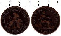 Изображение Монеты Испания 10 сентим 1870 Медь VF