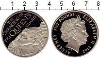 Изображение Монеты Великобритания Олдерни 5 фунтов 2013 Медно-никель Proof