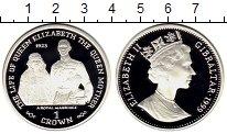 Изображение Монеты Гибралтар 1 крона 1999 Серебро Proof