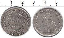 Изображение Монеты Швейцария 2 франка 1913 Серебро XF