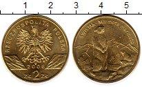 Изображение Монеты Польша 2 злотых 2006 Латунь XF