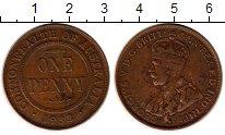 Изображение Монеты Австралия 1 пенни 1933 Медь XF