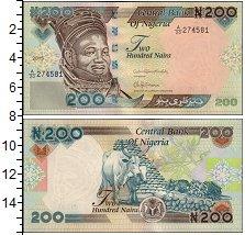 Изображение Банкноты Нигерия 200 найр 0  UNC