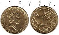 Изображение Монеты Великобритания 2 фунта 1995 Латунь UNC-
