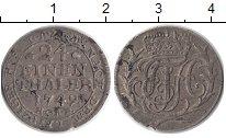 Изображение Монеты Германия Анхальт-Зербст 1/24 талера 1749 Серебро VF