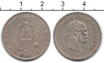 Изображение Монеты Германия Пруссия 1/6 талера 1862 Серебро XF