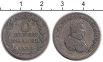 Изображение Монеты Германия Гессен 1/6 талера 1831 Серебро VF