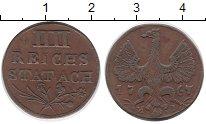 Изображение Монеты Германия Ахен 4 хеллера 1767 Медь XF