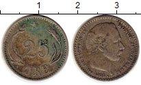 Изображение Монеты Дания 25 эре 1905 Серебро XF