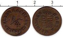 Изображение Монеты Германия Саксен-Майнинген 1/4 крейцера 1831 Медь VF