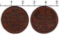 Изображение Монеты Германия Ахен 12 хеллеров 1765 Медь XF
